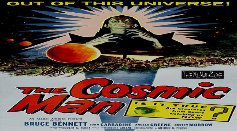 The Cosmic Man 1959 — A Full-Length Science Fiction Movie
