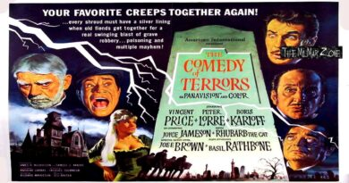 The Comedy of Terrors 1964 — A Sci-fi / Horror Movie Trailer