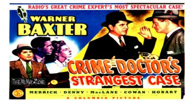 The Crime Doctor's Strangest Case 1943 — A Mystery / Crime Full-Length Movie