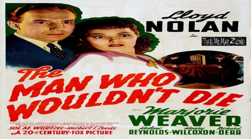 The Man Who Wouldn't Die 1942 — A Mystery / Crime Full-Length Movie