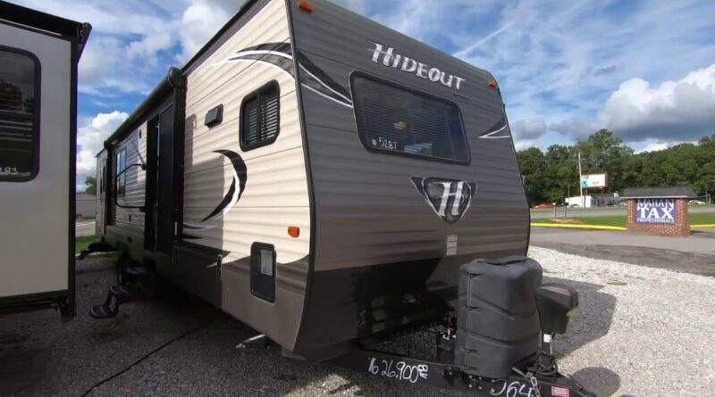 2016 Keystone Hornet Hideout 38FKTS Destination Camper, 3 Slides, 2 Bedrooms, Front Kitchen, $26,900