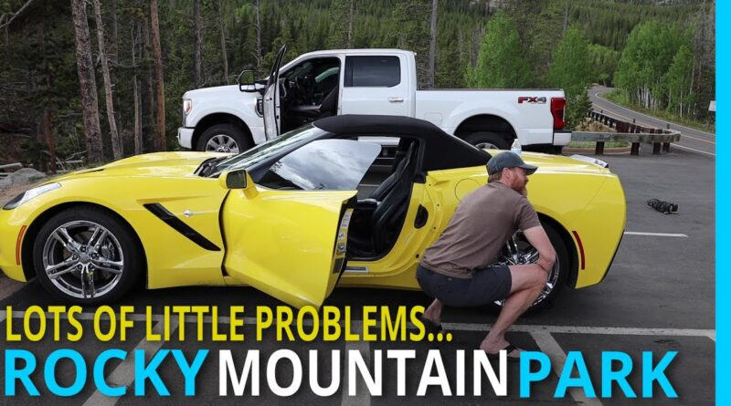 RV LIFE: Fixing Problems in Very Pretty Places (Estes Colorado)