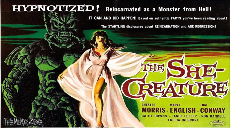 The She-Creature  1956 — A Sci-fi / Horror Movie Trailer