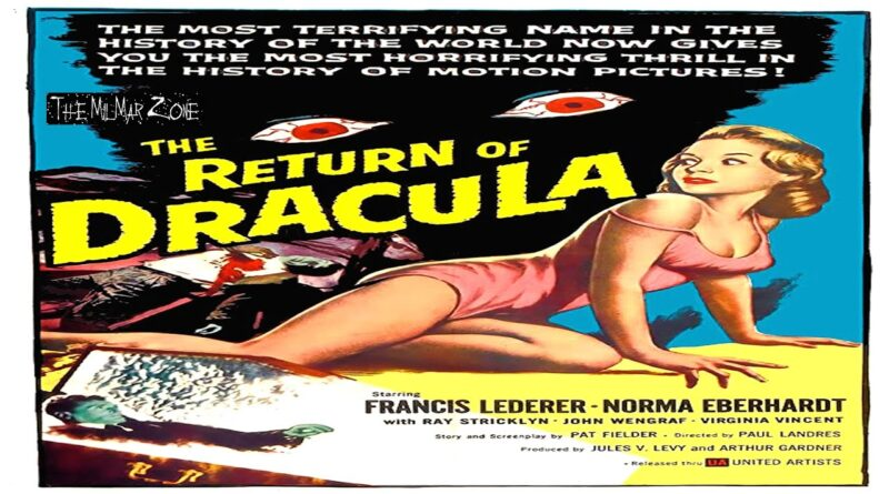 The Return of Dracula 1958  — A Sci-fi / Horror Movie Trailer