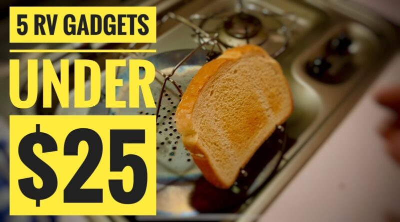 5 RV Gadgets under $25 each!