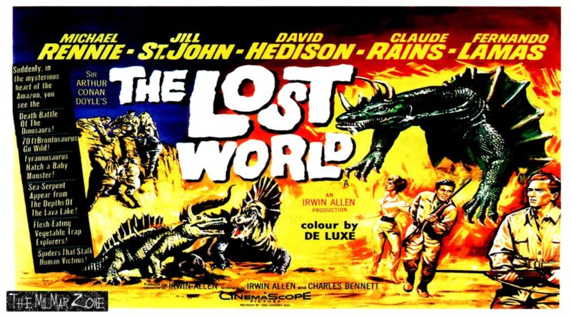 The Lost World 1960 — A Sci-fi / Horror Movie Trailer