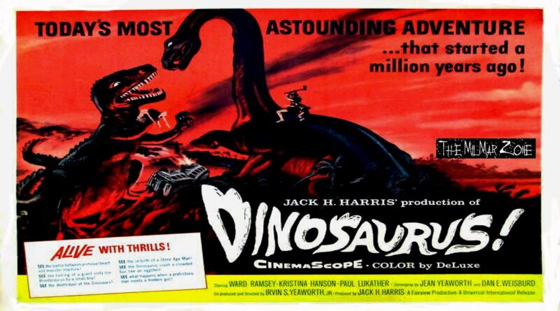 Dinosaurus! 1960 — A Sci-fi / Horror Movie Trailer
