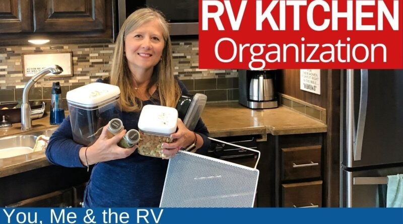 RV Kitchen Organization (MAKE IT ALL FIT) Full Time RV