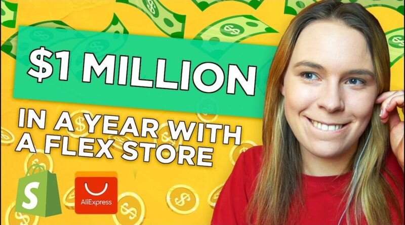 "$1 Million in a YEAR With a ""Flex Store"" (Dropshipping & Print On Demand) w/ Adrian Morrison"