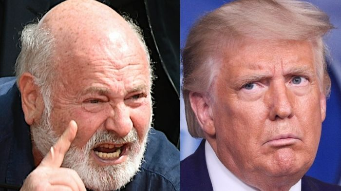 Rob Reiner Accuses Trump Of Committing 'Premeditated Murder'