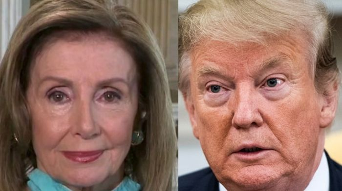 Pelosi Stands By Not Speaking To President Trump For Over A Year