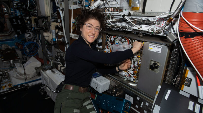 NASA Hosts Virtual Destination Station with Astronaut Christina Koch, Scientists