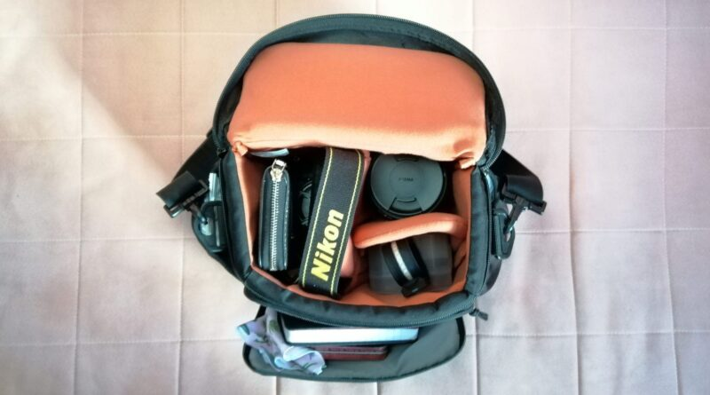 Take a peek inside a girl photographer's camera bag