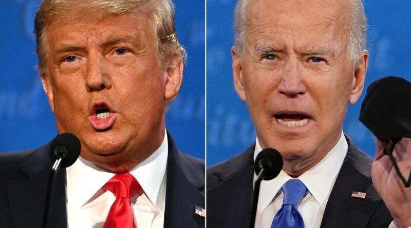 Trump and Biden make final pitch to voters at last presidential debate