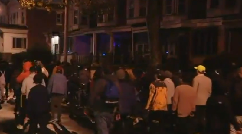 Officer run over during heated protest over fatal police shooting in Philadelphia