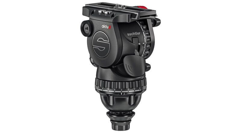 Sachtler's new aktiv fluid video tripod head series is built for speed and easy setup