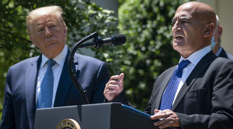Trump Covid vaccine chief has had 'no contact' with Biden transition team