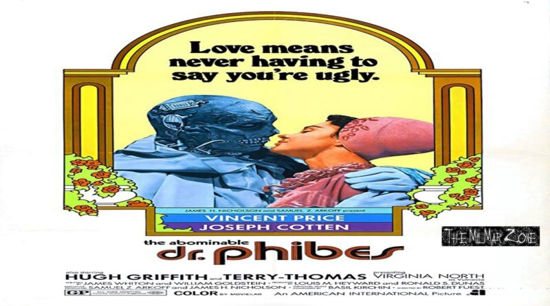 The Abominable Dr.  Phibes 1971– aka Dr. Phibes — A Sci-fi / Horror  Movie Trailer