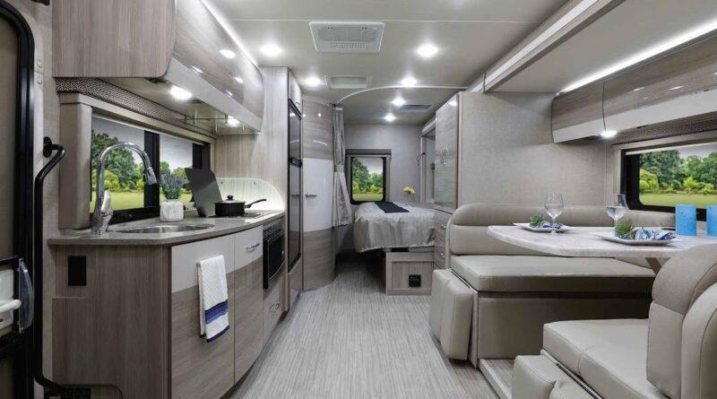 2021 Delano Mercedes Benz Sprinter Class C RV From Thor Motor Coach