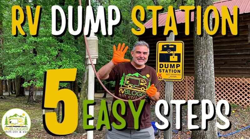 Dump Station for RV – 5 RV Dumping Station Tips for Beginners