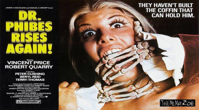 Dr.  Phibes Rises Again 1972 — A Sci-fi / Horror  Movie Trailer