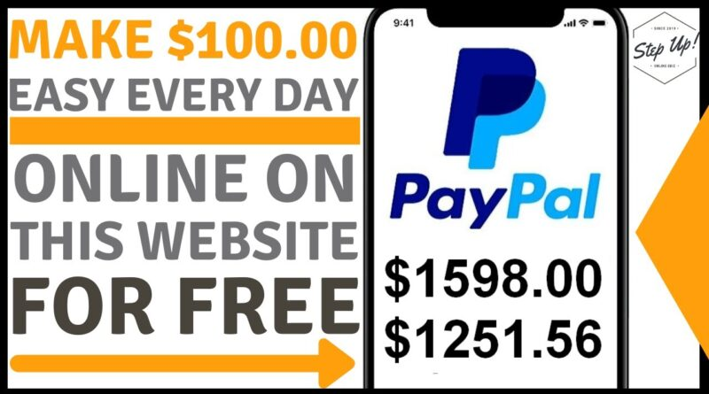 How To Make $100 Per Day Online On This Website Doing Easy Tasks With FREE Bonus And Giveaway