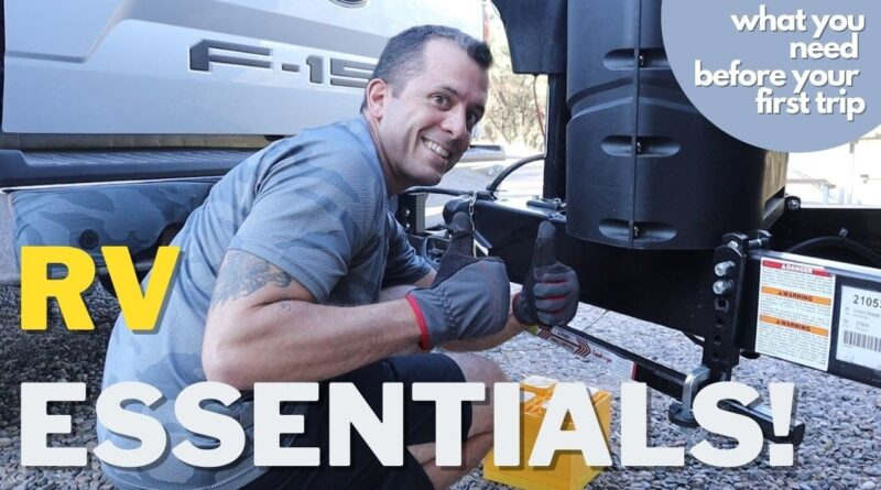 RV NEWBIES!! || BASIC ESSENTIALS || What you need before your first trip!!