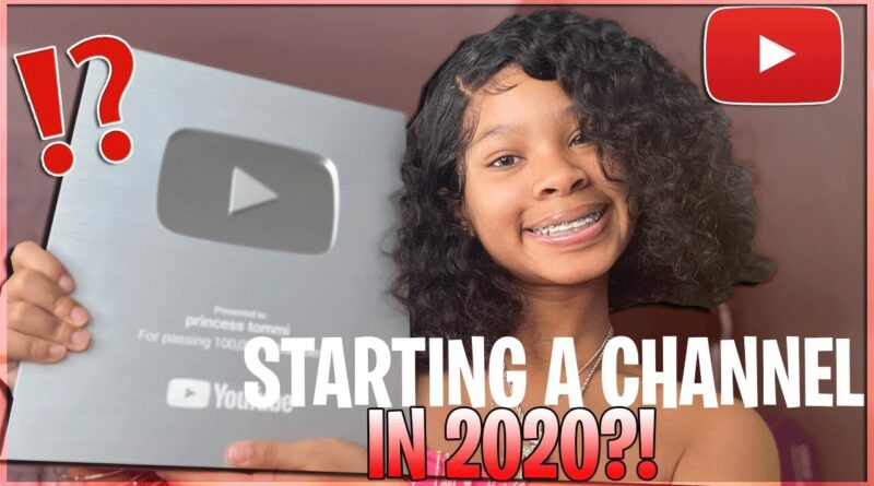 Starting your youtube channel in 2020! *TIPS, TRICKS, MY MISTAKES, INCOME, ETC*