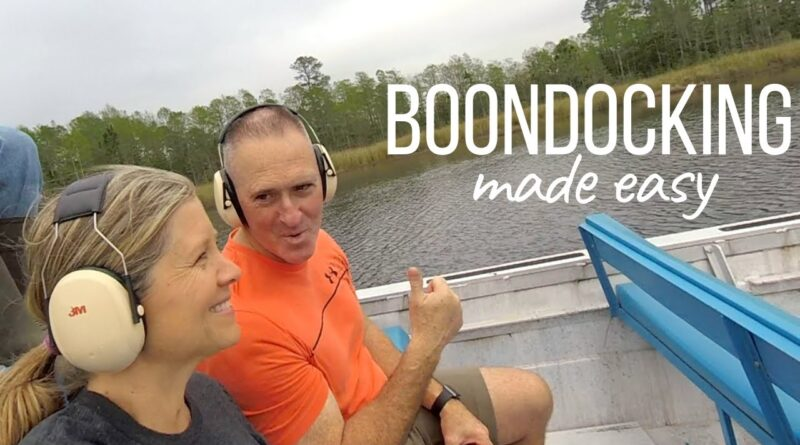 Boondock in a Motorhome (TIPS AND TRICKS) Full Time RV