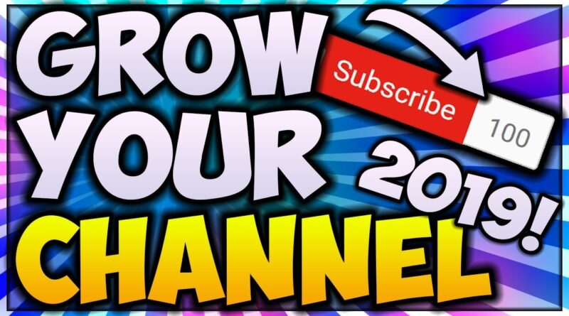 How To Get Your FIRST 100 SUBSCRIBERS In 1 WEEK! *NEW 2019 TIPS* 📈 (INCREASE Your Watchtime FAST)
