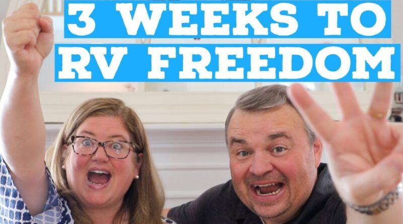 SOLD HOUSE | 3 WEEKS UNTIL RV LIVING (RV DIEM | RV NEWBIE LIFE BEGINS)