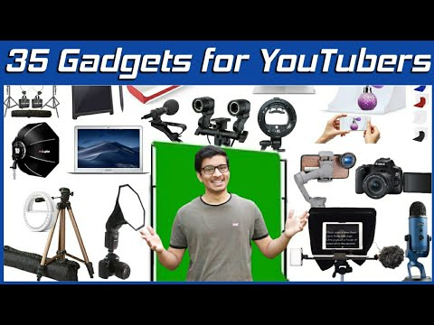 Top Gadget for YouTube Studio Setup | How to Start a YouTube Channel | Best Gadgets for YouTubers
