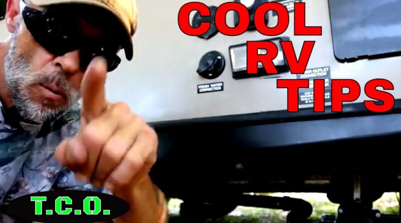 SUPER COOL RV/TRAVEL TRAILER TIPS
