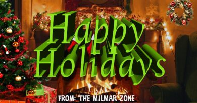 3 Hours  of a Christmas Fireplace From the MilMar Zone with Stocking 2020