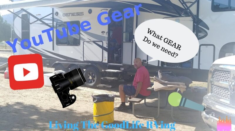 Rv Newbie Our get ready for YouTube Gear Mics and Selfie Sticks Review