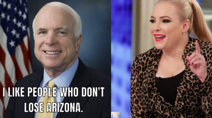 Meghan McCain Shares Meme Of Late Father Following Predicted Arizona Win For Biden