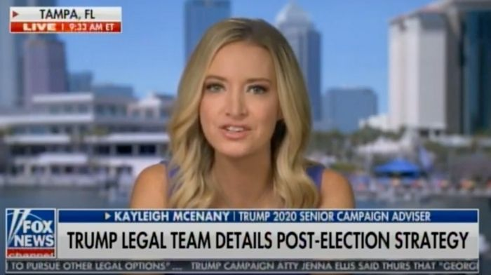 Kayleigh McEnany Says Trump Can Still Win Election Through Supreme Court