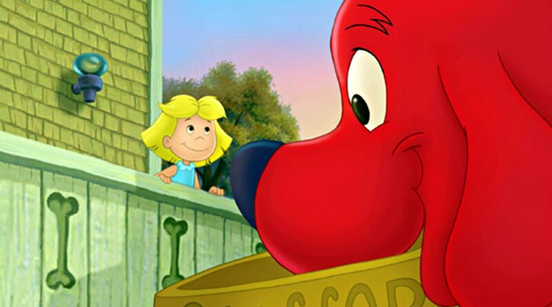'Clifford the Big Red Dog' teaser criticized