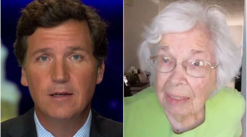 Tucker Carlson Apologizes for Claiming 96-Year-Old Georgia Voter Was a Dead Man