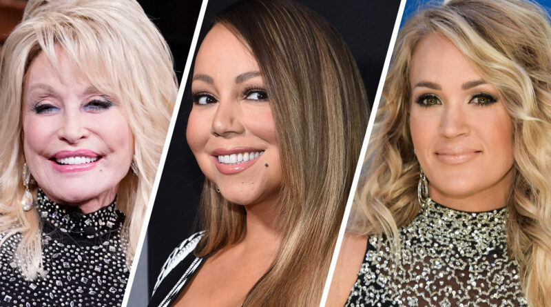 Carrie Underwood, Mariah Carey, Dolly Parton celebrate with holiday TV specials, David Fincher's 'Mank' debuts, 'Y&R' soap airs 12,000th episode