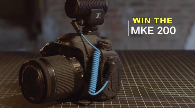 Sennheiser MKE 200 Winners Announced!