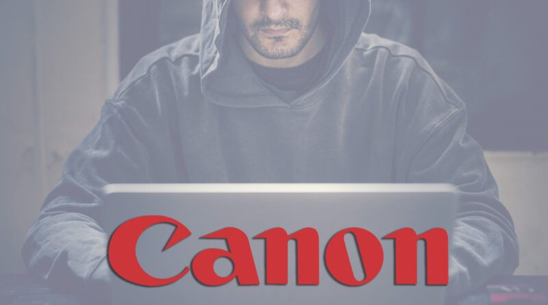 Canon confirms August ransomware attack and stolen employee data