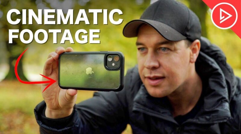 How to shoot cinematic footage with your smartphone without buying a whole bunch of accessories