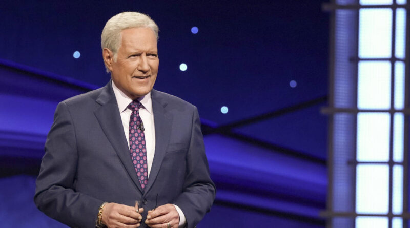 """""""Jeopardy!"""" releases prerecorded Thanksgiving message from Alex Trebek"""