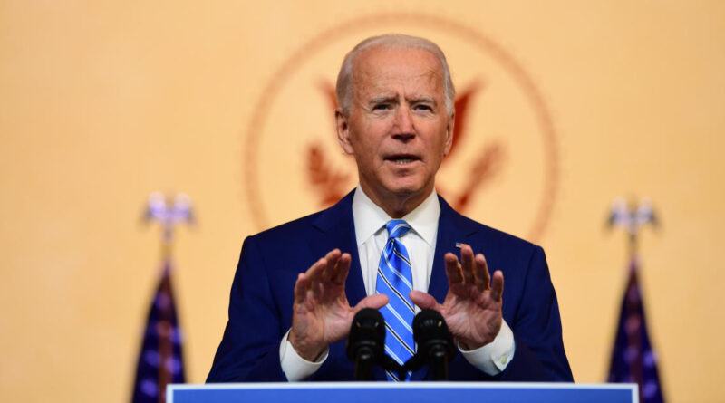 """Joe Biden reminds Americans """"we're at war with a virus, not with each other"""""""