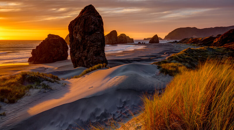 Behind The Shot: Golden Hour On The Oregon Coast