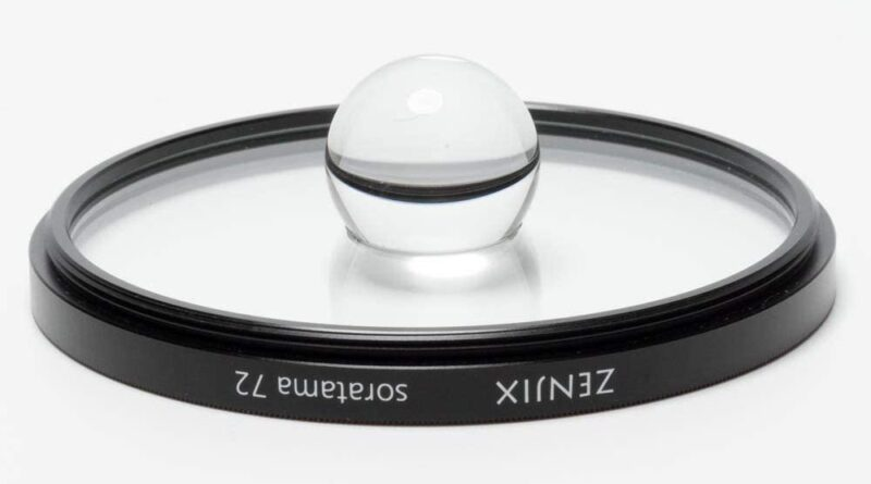 This weird lens filter traps the world in a sphere in front of your camera
