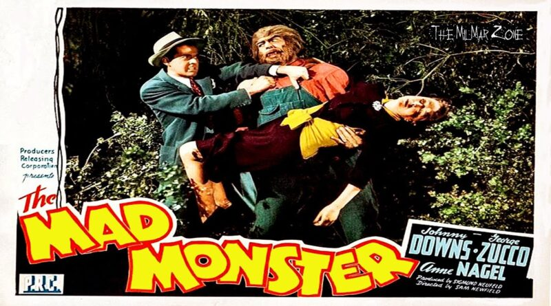 The Mad Monster 1942  — A Sci-fi / Horror  Movie Trailer