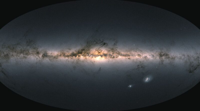 Here is the most detailed 3D map of the Milky Way to date
