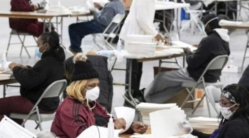 Georgia nears deadline for second recount as Trump plans rally